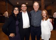 Aracely Munoz, Michael Peck, John Esch and Priscilla Hamilton