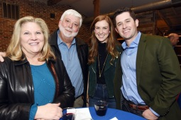 Debbie and Lloyd Caraway, Abby Osvog and Andrew Robinson. (Photo by Bob Haynes)