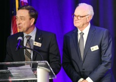 Larry Anfin, left and Albon Head Gala Co-Chairs