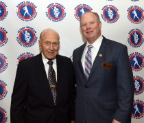 Dr. Bobby Brown and BBYF President Mike Goodrich