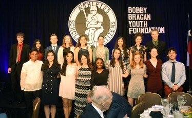 Recipients of the BBYF scholarship in 2015, now high school seniors